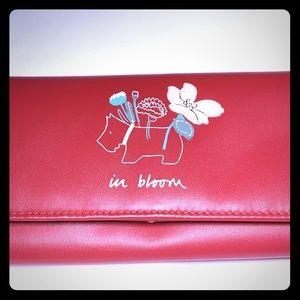 NWT RADLEY London In Bloom wallet in red